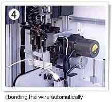 automatic cable tie& winding machine