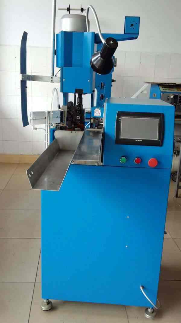 Automatic Wire Stripping Cutting and Crimping Machine (WPM-R8 ...