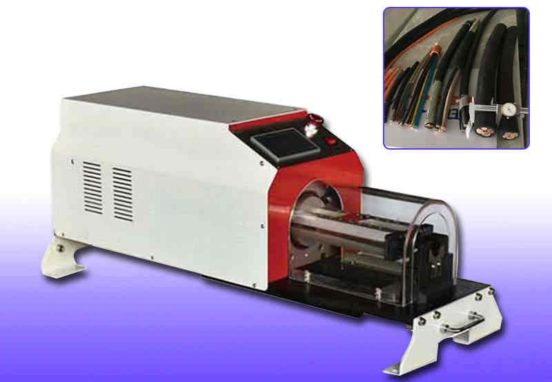 Rotary Blade Cable Stripper Machine