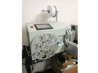 WPM-213 Automactic cable wire coil winding and binding machine